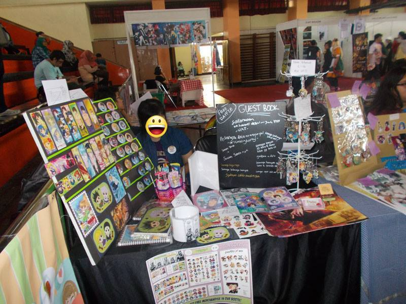 Comifuro 2014 pastel and tea Party