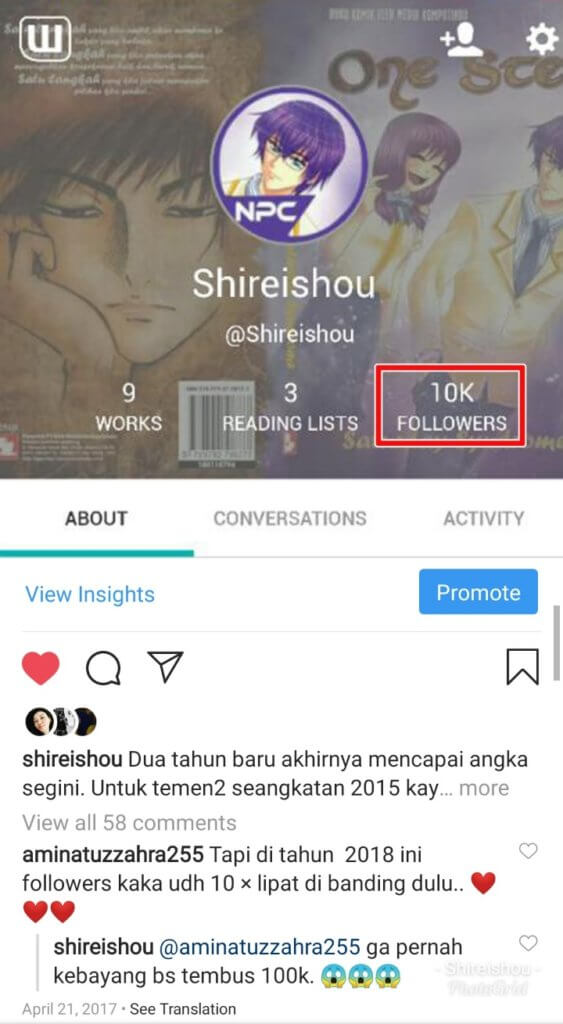 cara dapat follower 10k