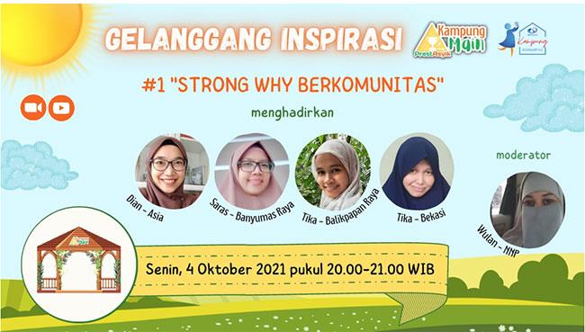 1 iip strong why berkomunitas